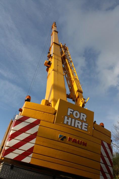 The 60 ton Crane